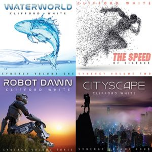 Clifford White – Waterworld / The Speed of Silence / Robot Dawn / Cityscape